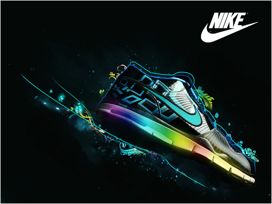 Nike Trainer Wallpaper by HeroKid123
