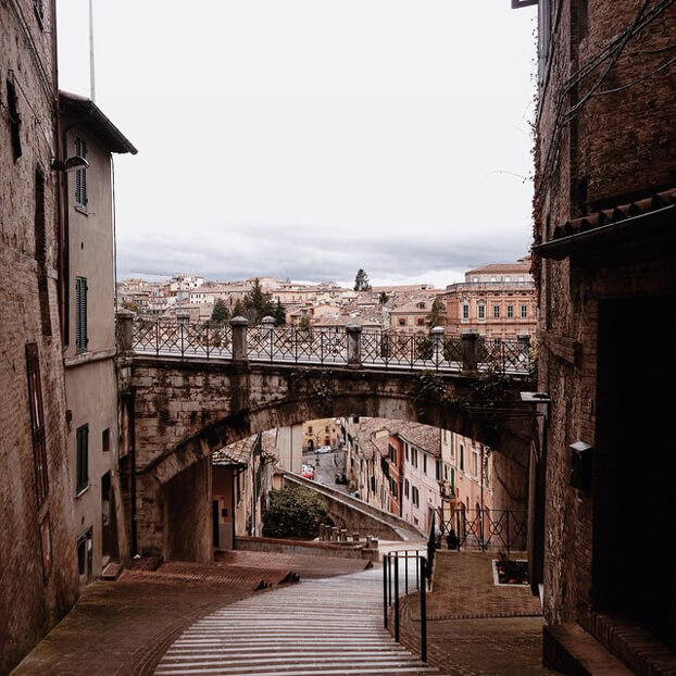 Of course I fell in love with Perugia by Laura Zalenga