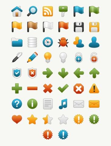 Onebit free icon set by kurumizawa