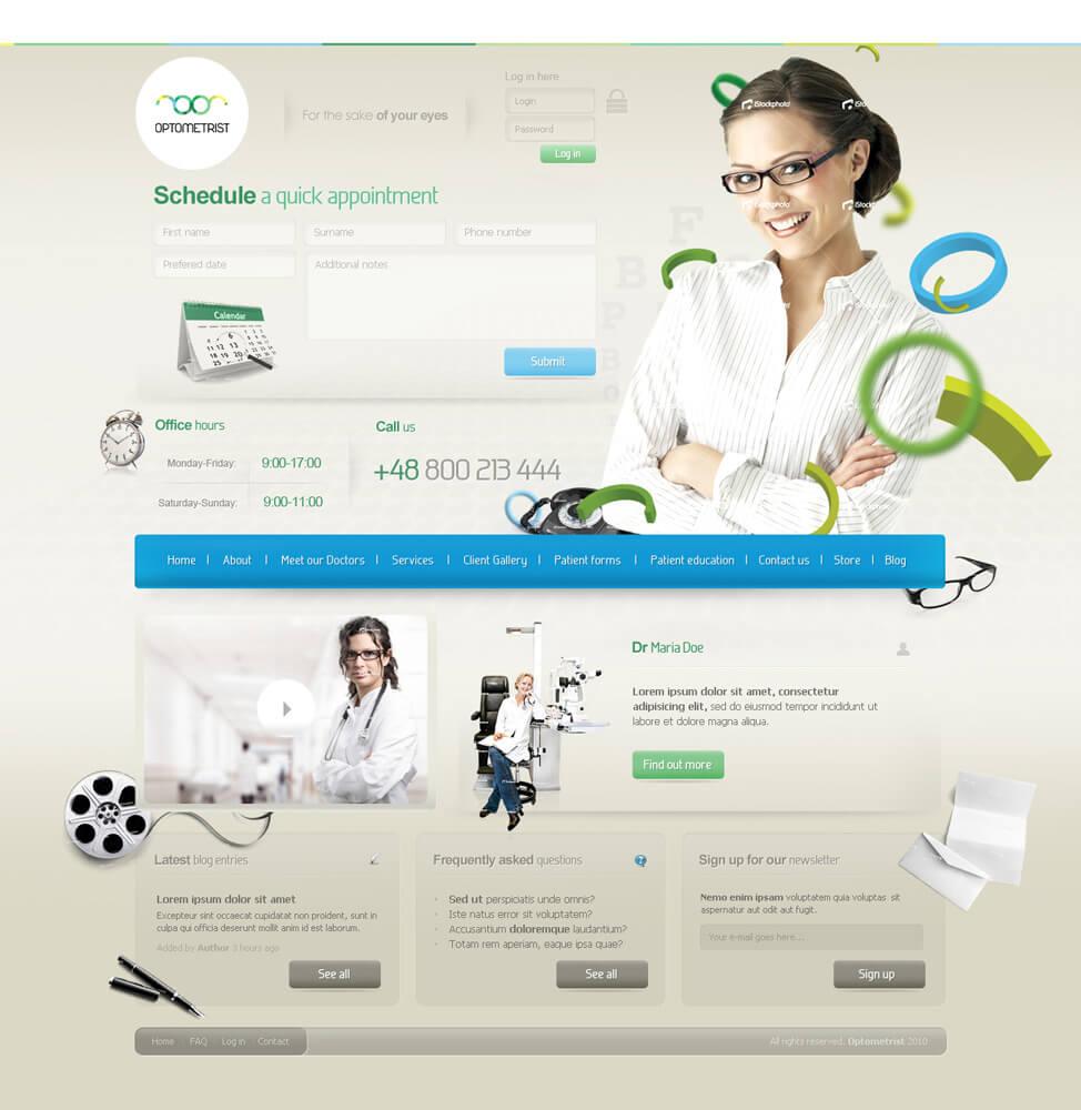 Optometrist  for sale  by wnek