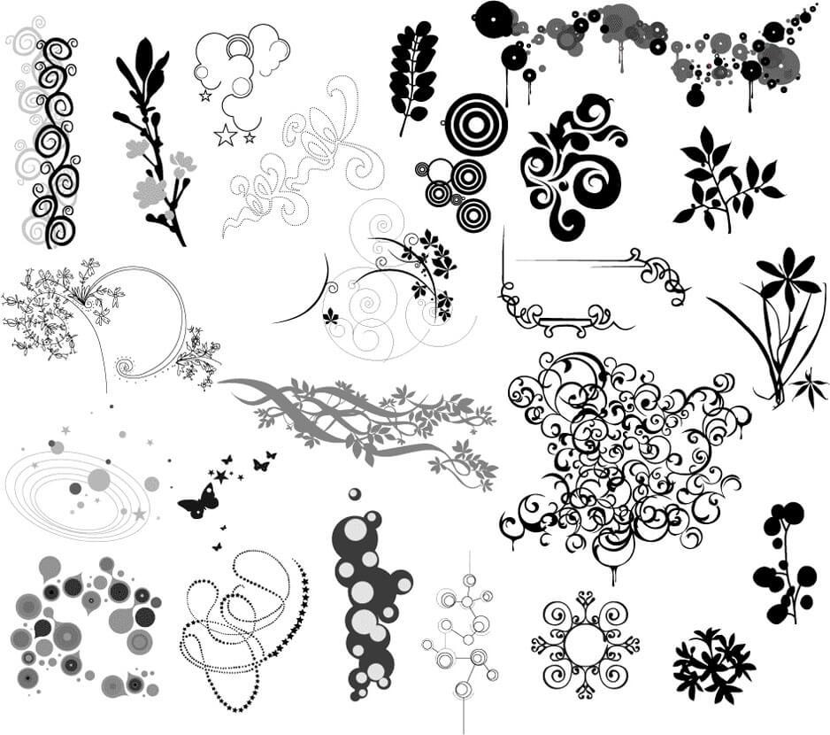 Ornaments by mynymyr