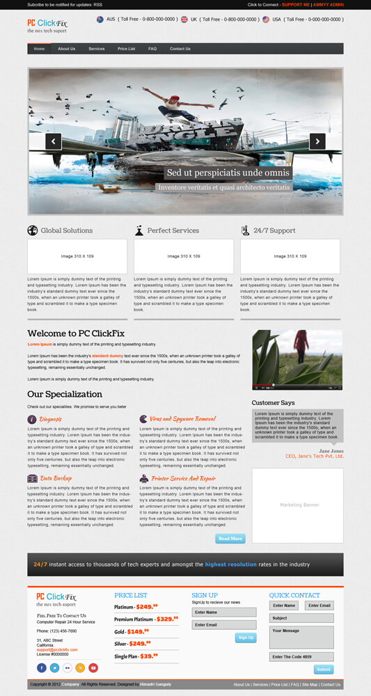 PC ClickFix by designerweb