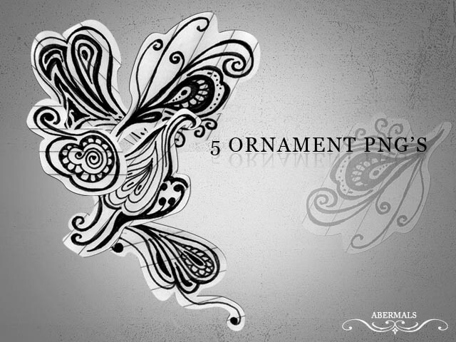 PNG  Ornament by abermals
