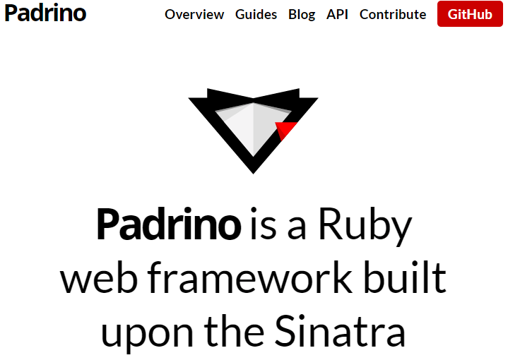 Padrino - The Elegant Ruby Web Framework