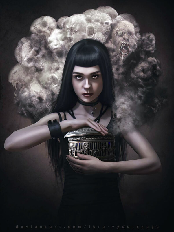 Pandora by Lora-Vysotskaya