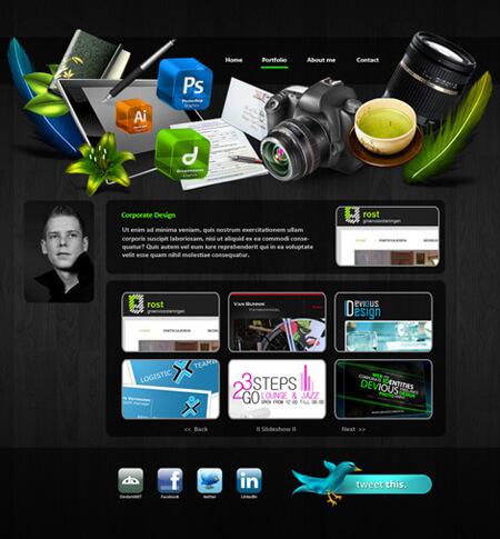 Personal Portfolio by ~Devious-Design