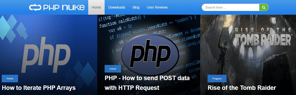 PHP-Nuke