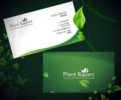 Plat Raiser Business Card by prkdeviant