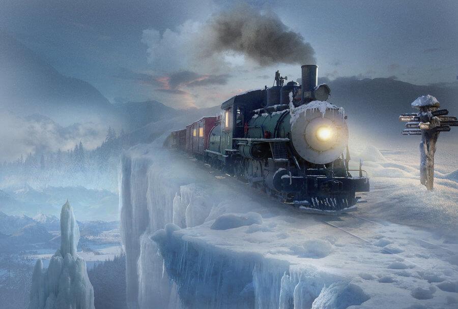 Polar express by ElenaDudina