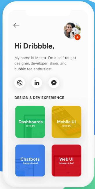 Portfolio Profile Page