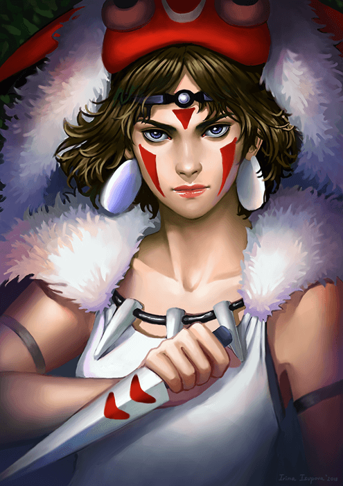 Princess Mononoke by Irina-Isupova