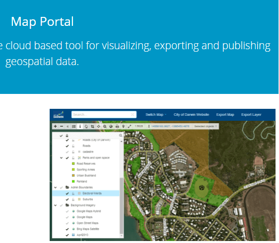 Products GIS Cloud