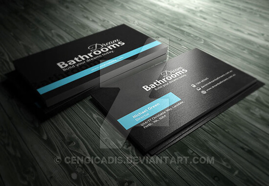 Promotion Business Card Template by cengicadis