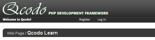 Qcodo PHP Framework