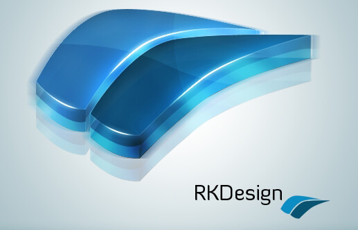 RKDesign 3D logo by RKDesigen