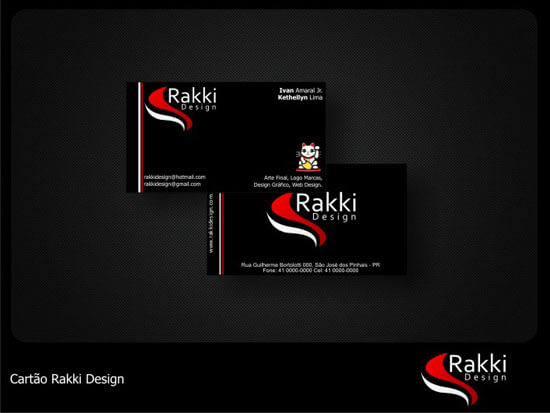 Rakki Design – Cartao by rakkidesign