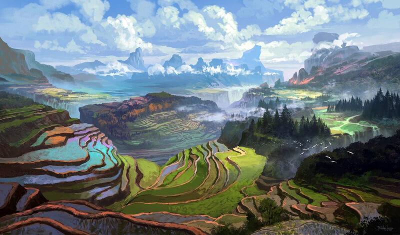 Rice Terraces by FerdinandLadera