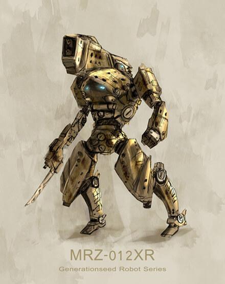 Robot 01 by ~Jessada-Nuy