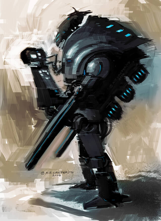 Robot Design by ~SPACESKULL