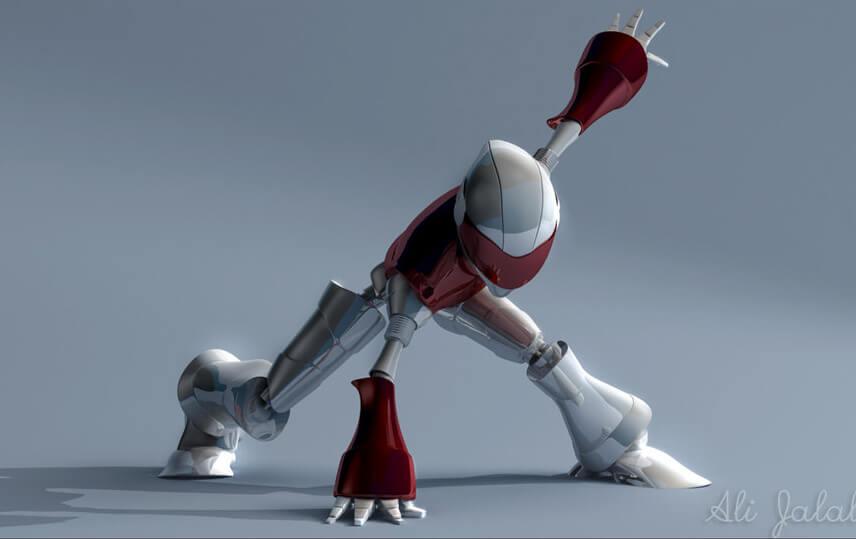 Robot by ~alijalali