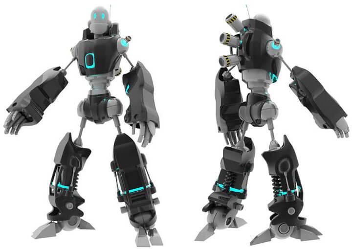 Robot by ~snipergen