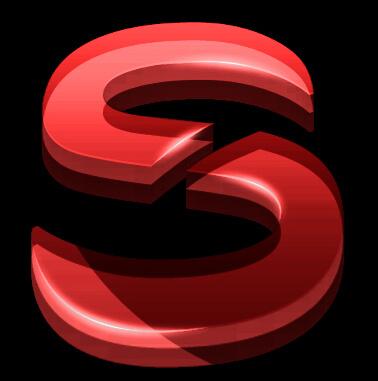 S - Design 3D logo by Sph013