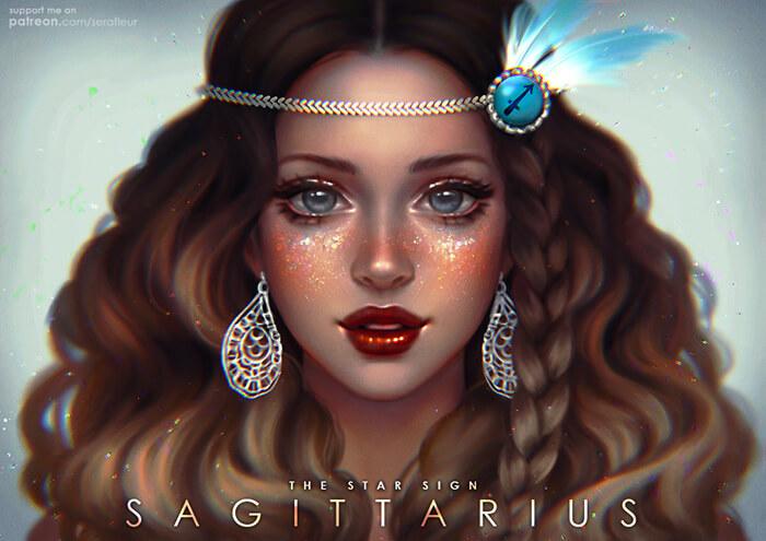 Sagittarius - The Star Sign by serafleur