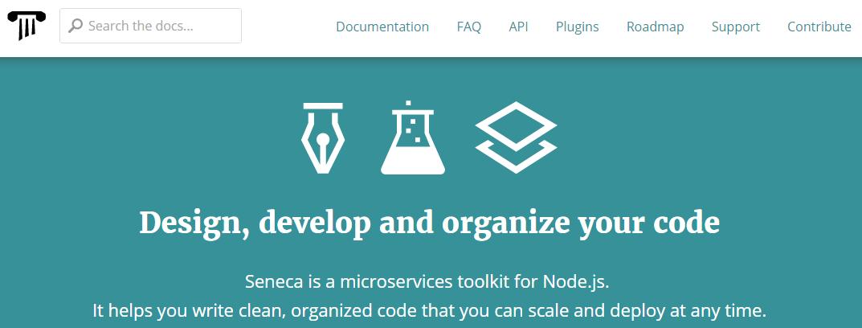 Seneca, a microservices