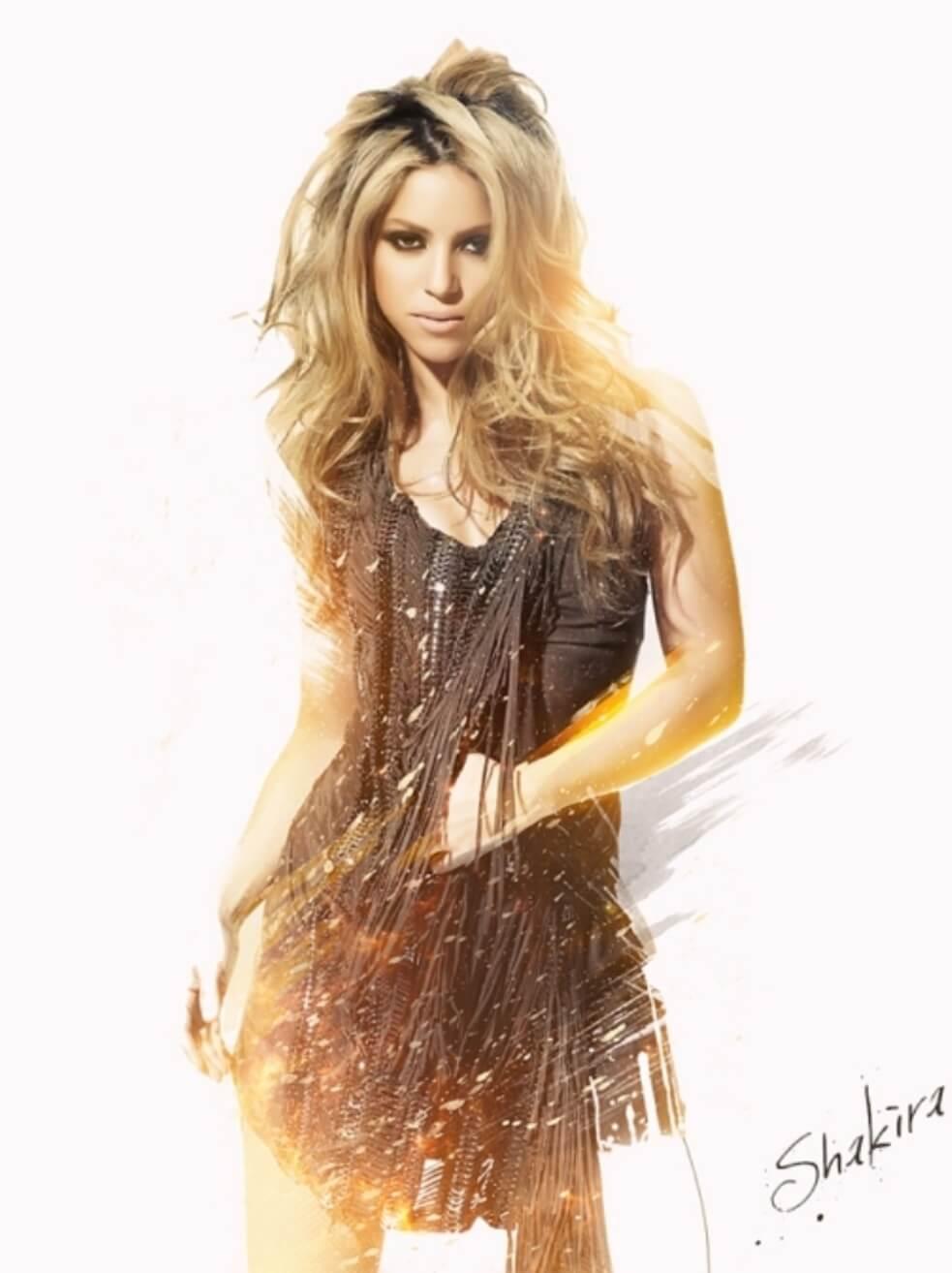 Shakira by rizign