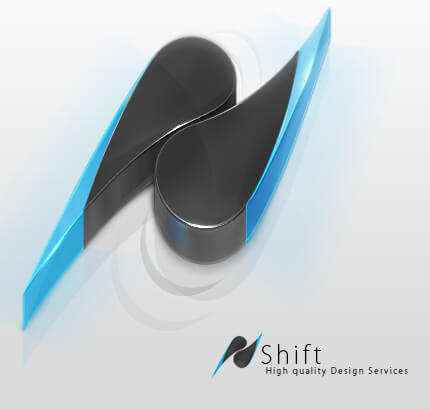 -Shift- Logo V3 by El3ment4l
