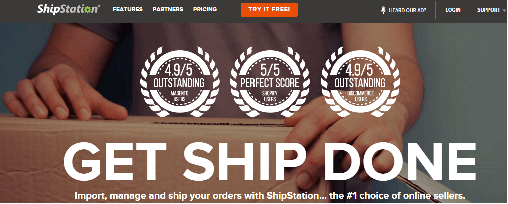 ShipStation: eCommerce Shipping