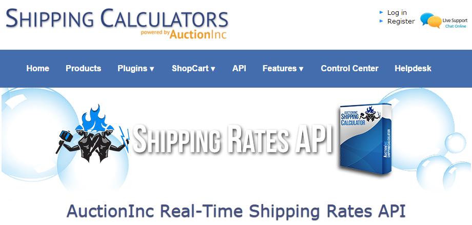 Shipping API - AuctionInc