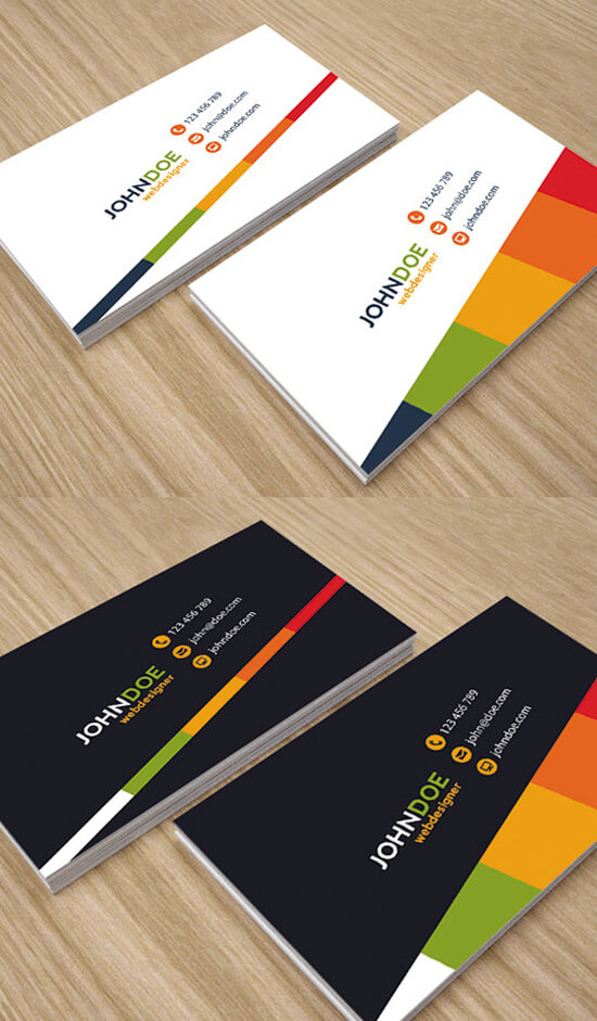 Simple and Creative Business Cards by env1ro