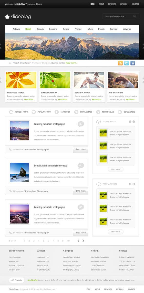 SlideBlog by edumicro