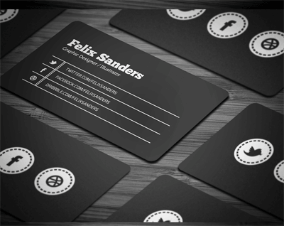Social Business Cardby FlowPixel