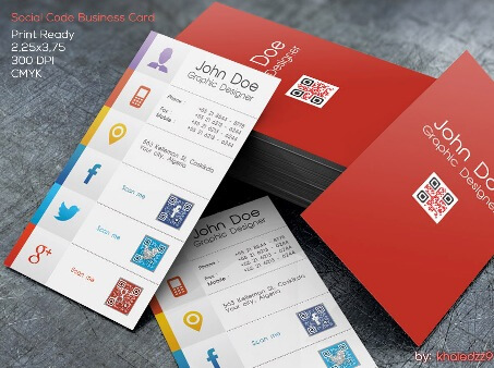 Business Card Design Ideas 10 best business card design ideas Social Code Business Card By Khaledzz9