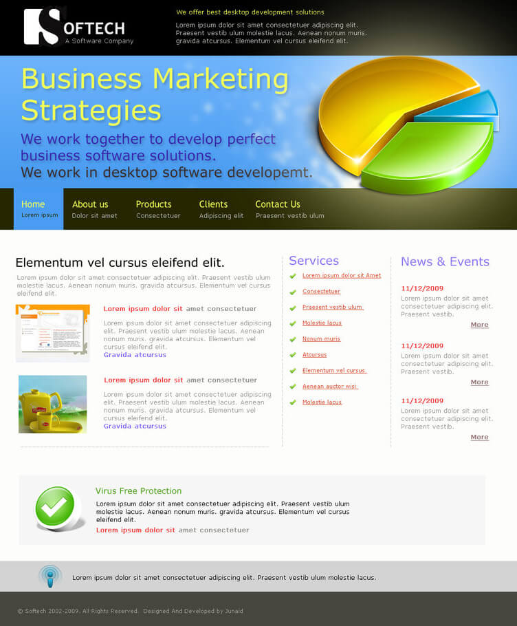 Software website for sale by junaidmiran