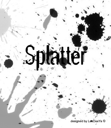 Splatter Brush by LeeDeeYa