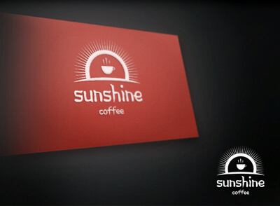 Sunshine Coffee Logo Template by Rafael-Olivra