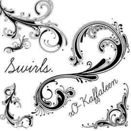Swirls... by Kath Toman