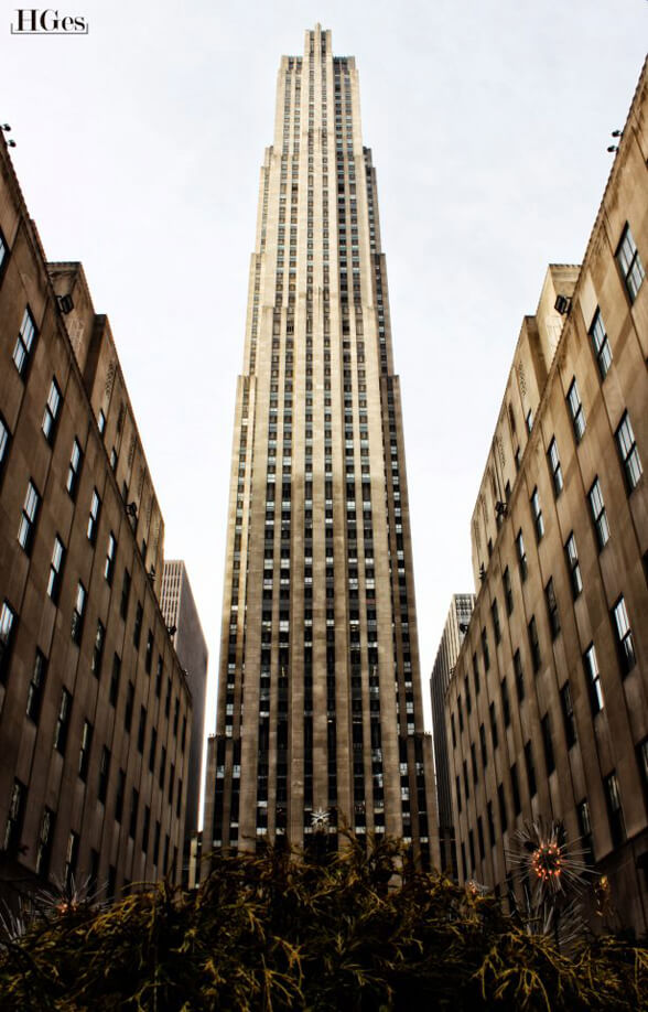 THE BEAST at Rockefeller Center by Hector Ges