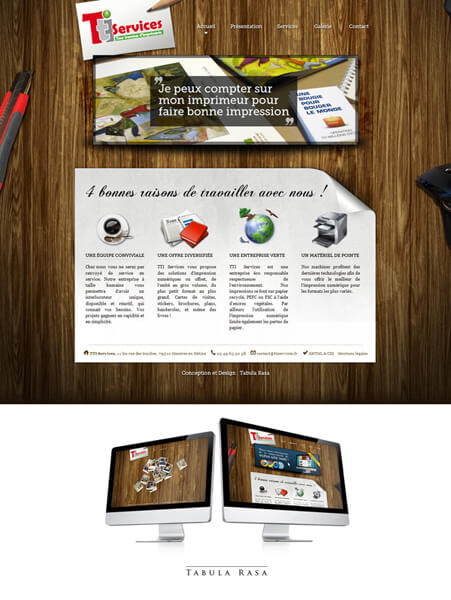 TTI Services Website by ~TabulaRasaStudio