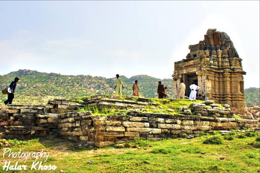 Temple Mountains of Karoojhar at Nangarparkar Tharparkar Sindh