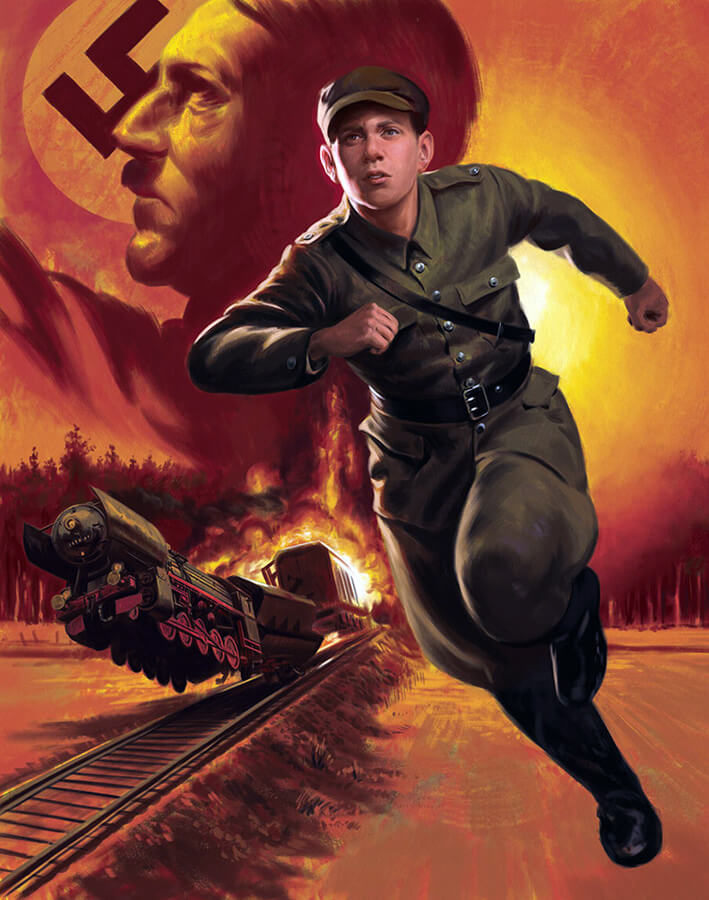 The Boy Who Fought Hitler: The Story of Ben Kamm by JakeMurray