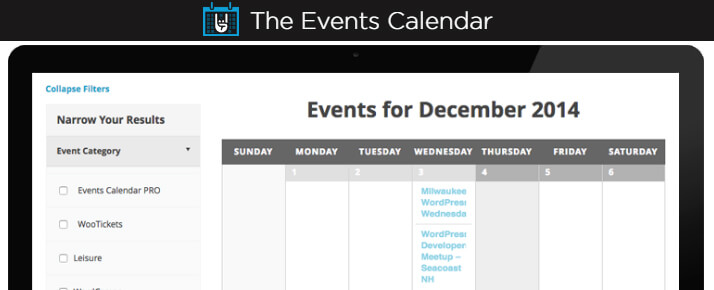 The Events Calendar-Wordpress Plugin