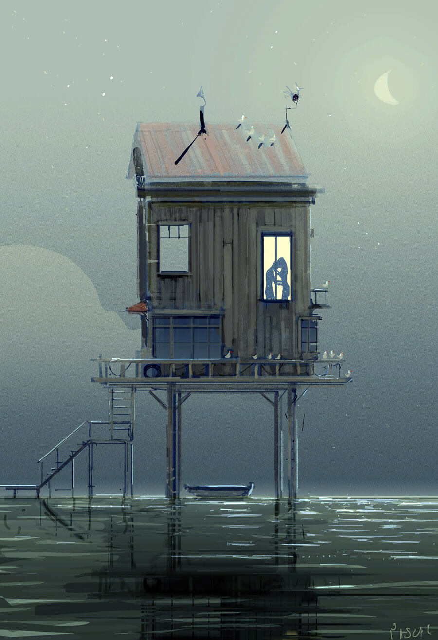 The Midnight house by PascalCampion