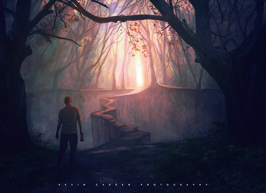 The Narrow Path by kevron2001