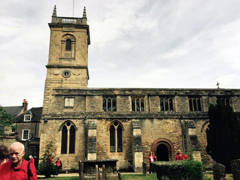 The Preston Hollow Presbyterian Church Sanctuary by Clarice Tinsley