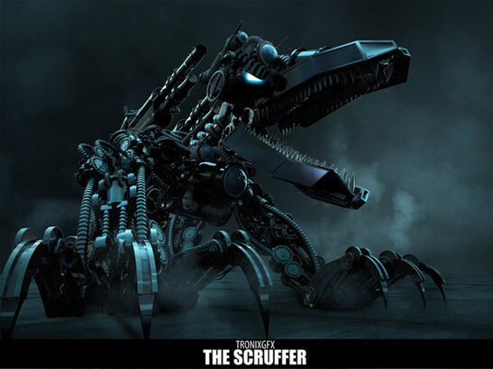 The Scruffer by ~TronixGFX