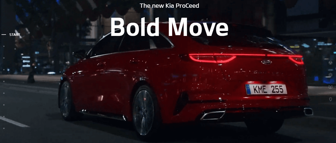 The new Kia ProCeed_Bold Move